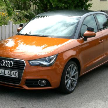 Audi A1 der Fahrschule Horend-Lämmermeier